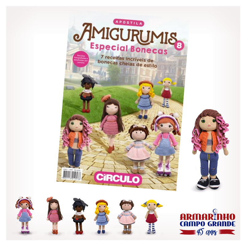 Receitas Amigurumi Bonecas Bebê - Boneca de Crochê - YouTube | 800x800